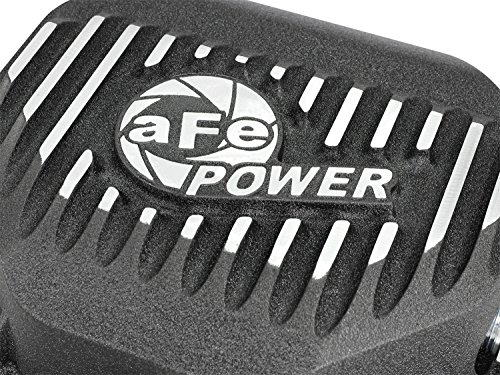 aFe Power 46-70272-WL Rear Differential Cover (Machined, Pro Series, with Gear Oil) by aFe Power