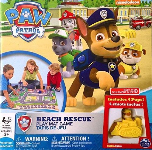Paw Patrol Beach Rescue Play Mat Game (Paw Patrol Game)