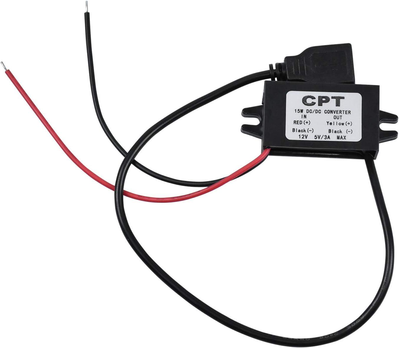 Wekon Dc Dc Step Down Adapter 12 V Elektronik
