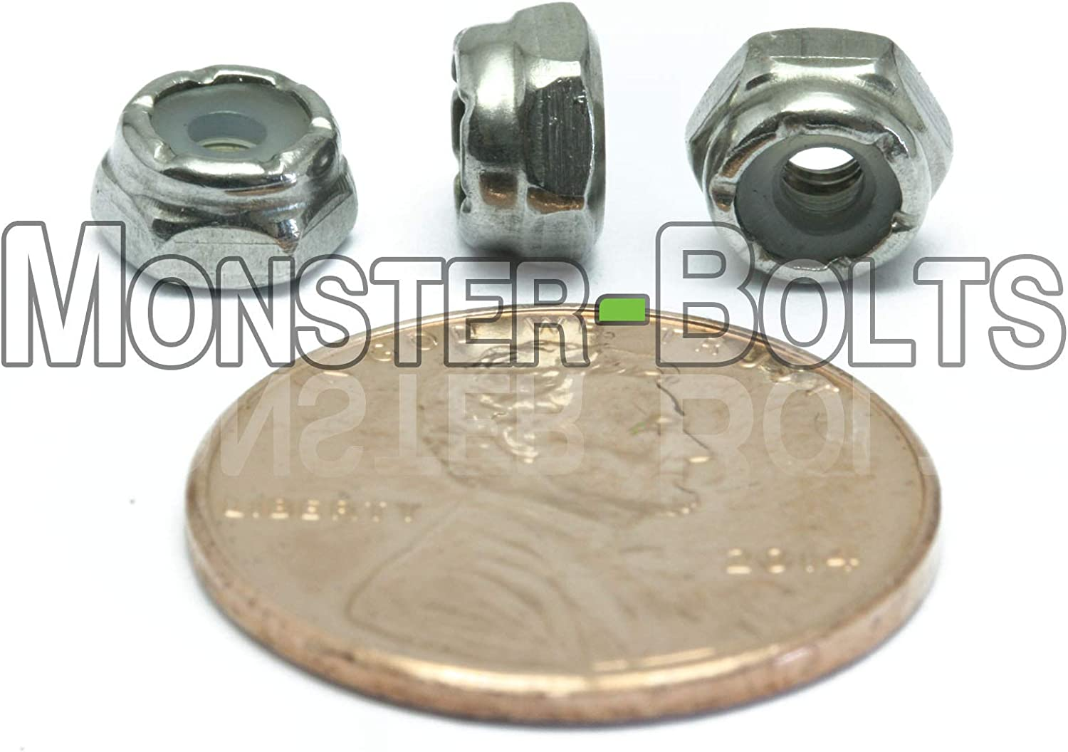 3//32 Width Across Flats ASME B18.6.3 Plain 18-8 Stainless Steel Machine Screw Hex Nut 1//4 Thick Pack of 100 #4-40 Thread Size