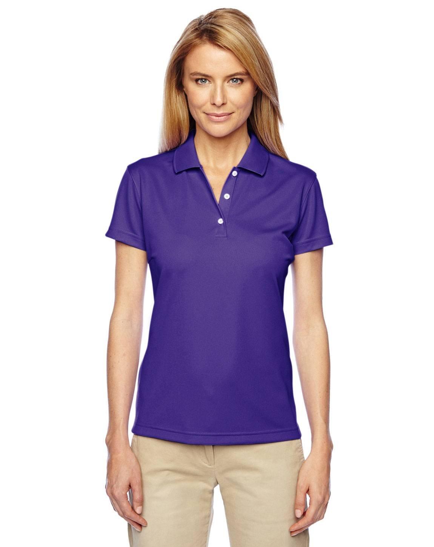 Ladies' climalite Basic Short-Sleeve Polo (COLLEGE PURPLE - COLLEGE PURPLE S)