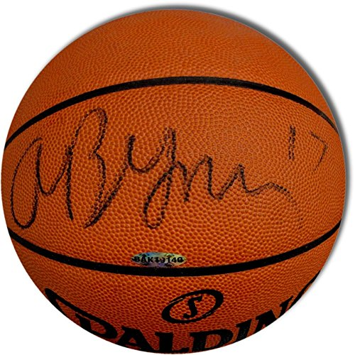 Andrew Bynum Signed Autograph Official NBA Spalding Basketball Lakers 76ers UDA