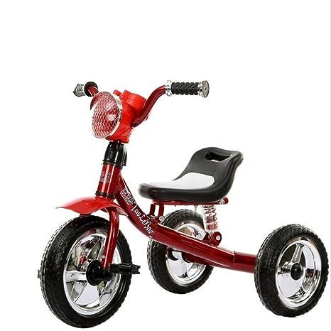 Bicicleta de triciclo para niños con tres ruedas