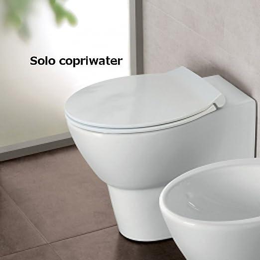 Copriwater Coprivaso Termoindurente A Sgancio Rapido Per Sanitari