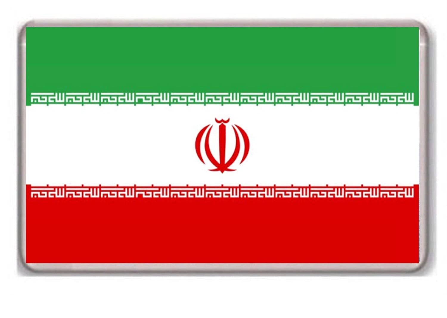 Flag of Iran fridge magnet Photosiotas