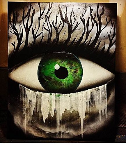 Amazon Com Eye Nature Painting Options Available On Posterboard