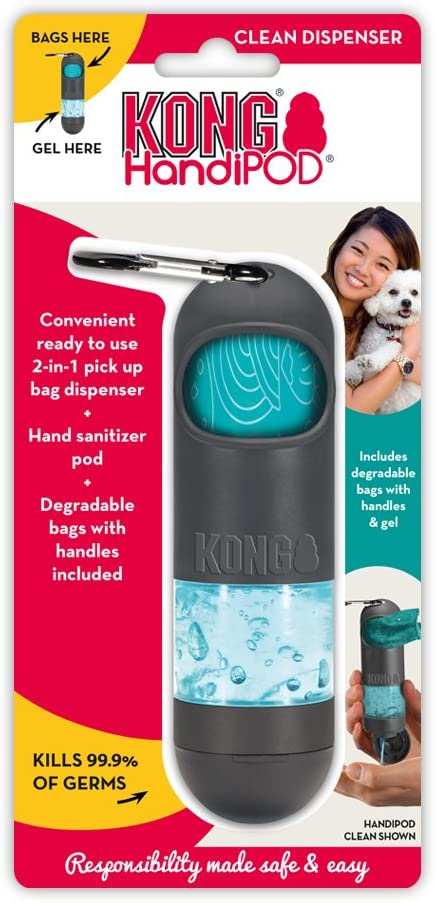 Amazon Com Kong Handipod Clean Dispenser Dog Waste And Poop