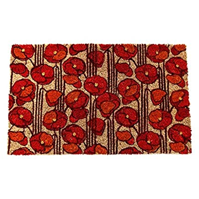 Entryways Coir Non-Slip Doormat, 17 x 28 Inch