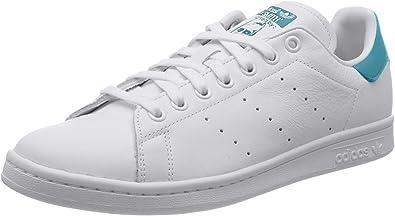 adidas Originals Stan Smith Trainers Women White/Turquoise - 5.5 ...