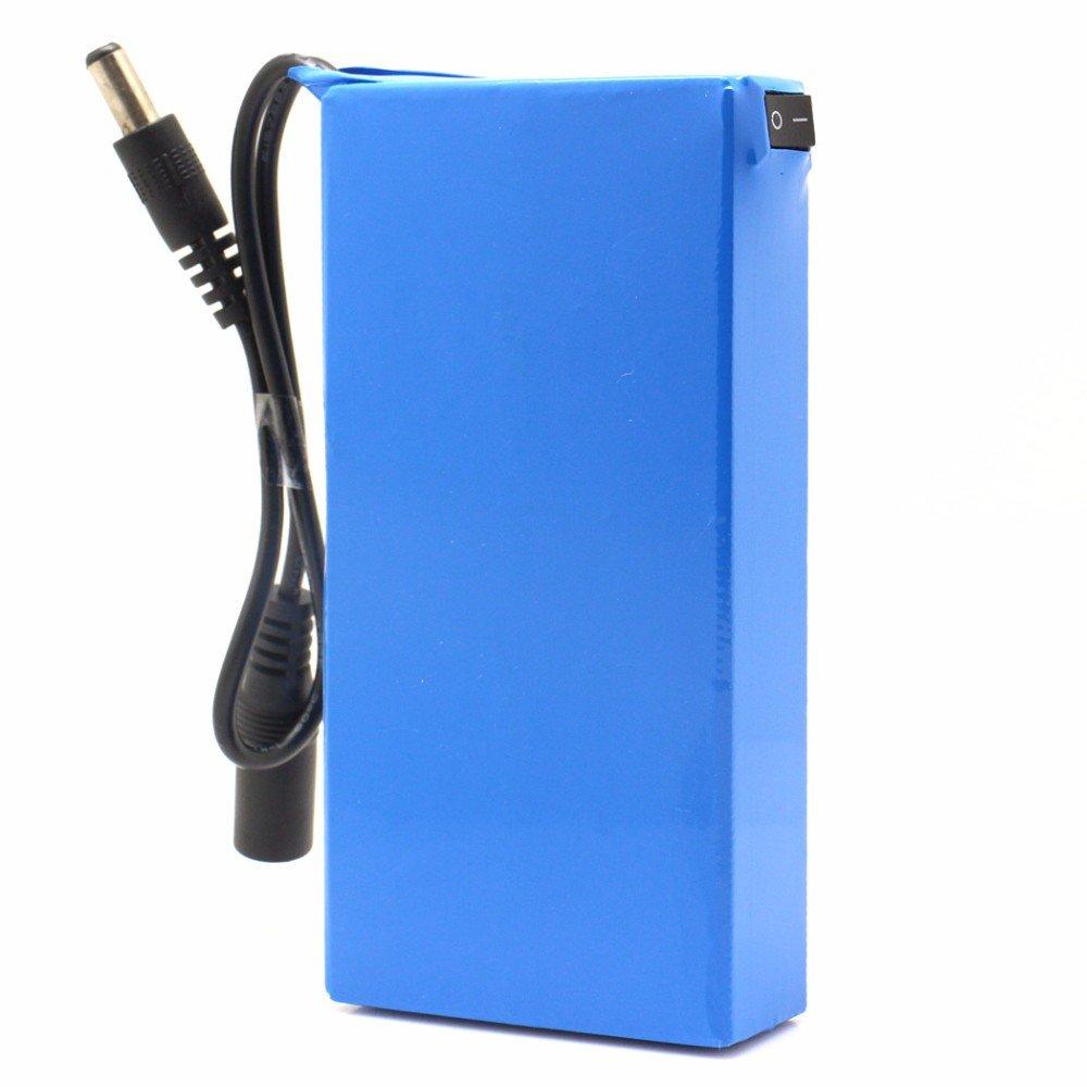 Conector y bater/ía de ion de litio DC 12680/6800/mAh port/átil con interruptor recargable DC 12/V  para c/ámaras y videoc/ámaras