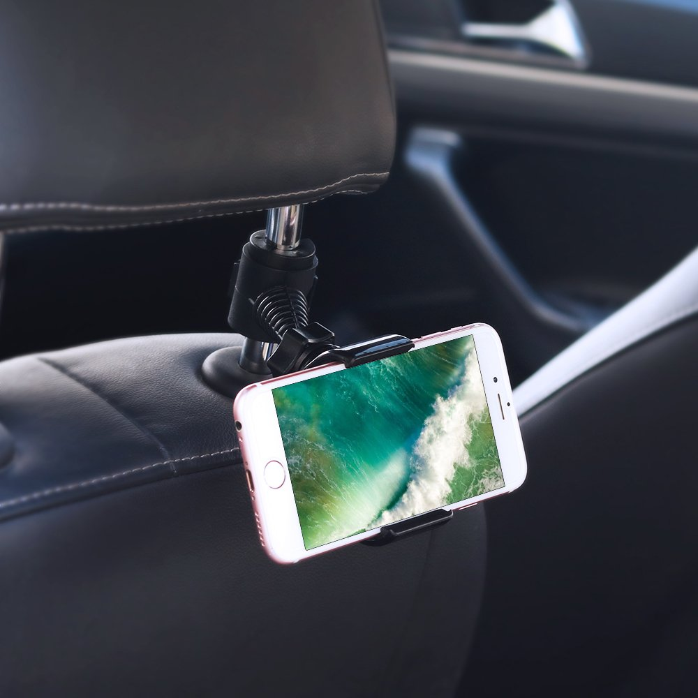 S8 S8 TIQUS Headrest Mount Stand Compatible for iPhone X 8 8 Plus 7 7Plus Universal Car Backseat Phone Holder Samsung S9 S9 Note 8 Shijihuaxia 4351540184