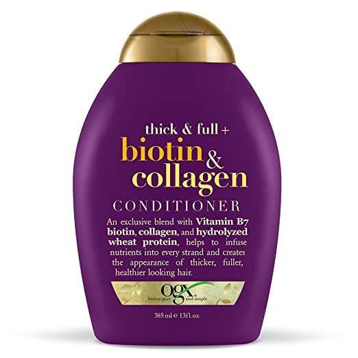 OGX Conditioner, Biotin and Collagen for Thinning Hair