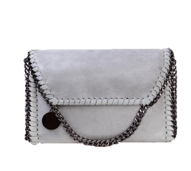 Women's PU Leather Casual Chain Bag Crossbody Bag Messenger Bag Clutch Shoulder Bag