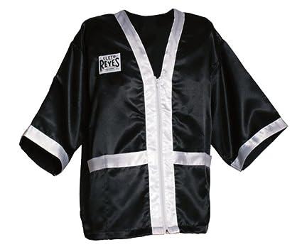 0c74bdbec2 Amazon.com   Cleto Reyes Boxing Robe for Corner Staff   Men Zipper ...