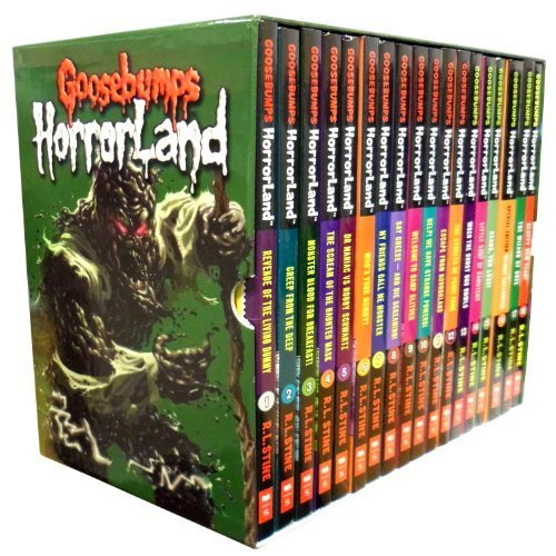Goosebumps Horrorland Collection (18 Volume Set) by R. L. Stine (2013-05-04) by Scholastic