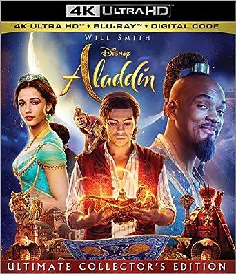 Amazon com: Aladdin [Blu-ray]: Will Smith, Mena Massoud