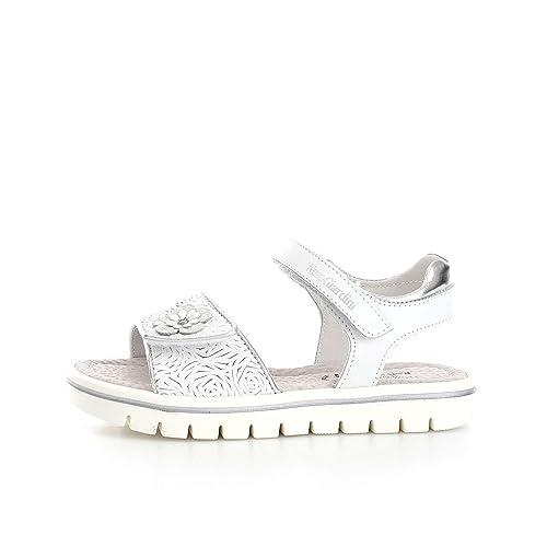 060164030 Nero Giardini - Sandalias de vestir para niña blanco Bianco  Amazon.es   Zapatos y complementos