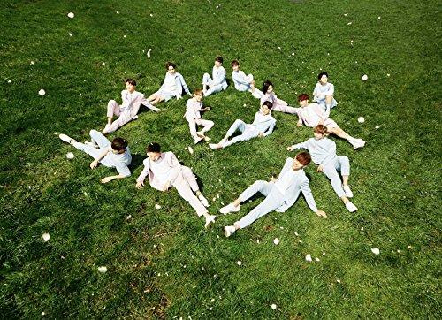 SEVENTEEN - 1st Album LOVE & LETTER [ Love Ver.] CD + Photobook + Folded Poster + Sticker + Postcard + Extre...
