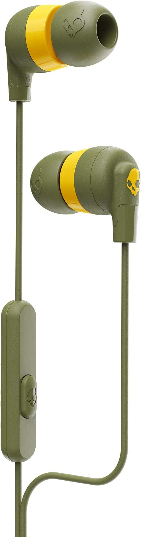 Skullcandy Ink'd Plus In-Ear Earbud - Olive