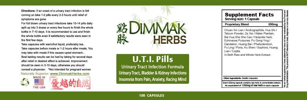 UTI Pills-Urinary Tract Infection Formula