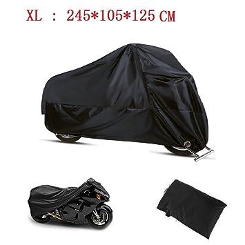 7eb082d4c5b Funda Moto 190T Cubierta Impermeable de Motocicleta Protector Cubierta para  Moto/Motocicleta Funda Cubre Moto Impermeable: Amazon.es: Juguetes y juegos