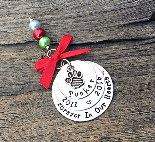 Pet Memorial Christmas Ornament | Pet Keepsake Ornament | Pet Remembrance Ornament | Pet Keepsake Ornament | Rainbow Bridge Ornament | Pet Sympathy Gift