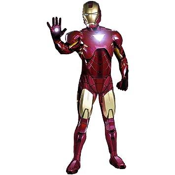 morris costumes IRON MAN TRAJE: Amazon.es: Juguetes y juegos