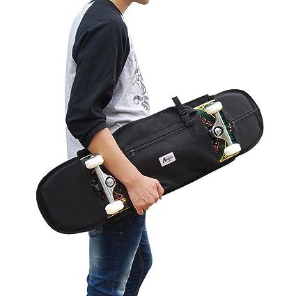 """Mochila monopatin para Llevar Skate Forma Elegante Tabla Completa de hasta 8.5"""" (21 cm"""