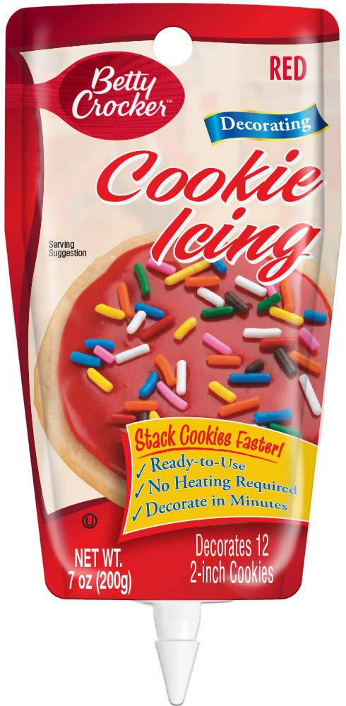 Betty Crocker Cookie Icing, Red, 7 oz