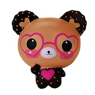 Mambain_Toy ✿Squishy Kawaii Morbidi Carini Squishies Slow Rising Antistress Giocattolo di Decompressione Giocattoli Lento Aumento Spremere Profumato Soft Squeeze Toys per Adulti E Bambini,Mambain