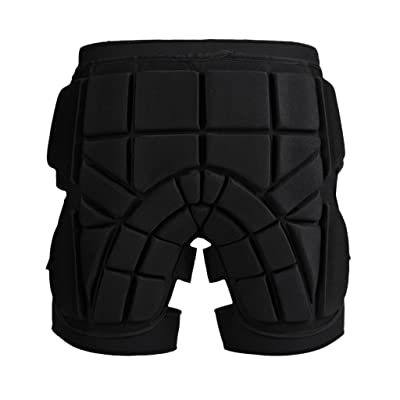 MonkeyJack Cushioned Ski Hip Butt Pad Inline Roller Skating Snowboarding Padded Safe Shorts Protective Gear S M L : Clothing