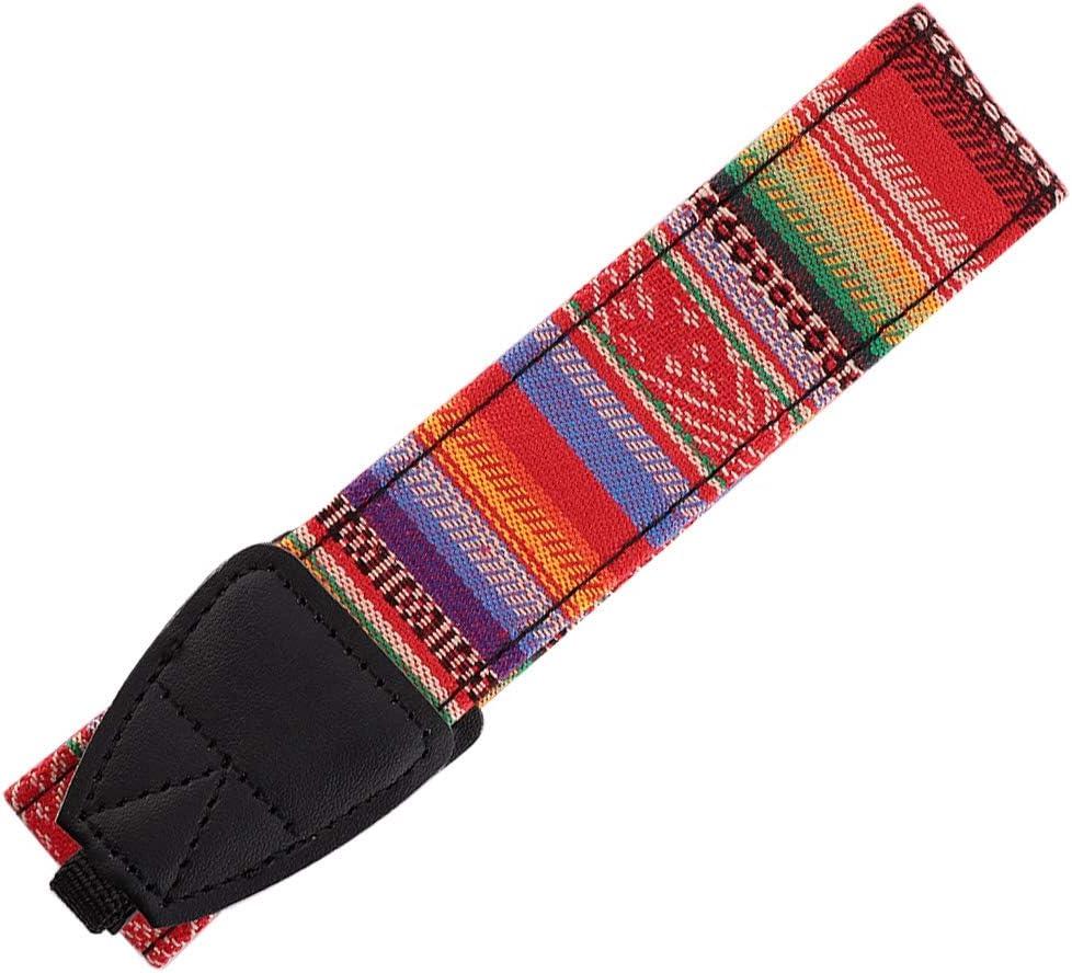 Universal Camera Shoulder Strap,Portable Adjustable Delicate Colorful Retro Vintage Classic Shoulder Neck Belt Strap,Lightweight Durable for Most SLR//DSLR Camera #203