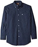 Ariat Men's Classic Fit Long Sleeve Button Down Shirt, Padaman True Navy, XXL