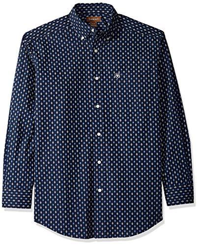 Ariat - Camisa de Manga Larga con Botones y plumón para Hombre 2b2963d30da