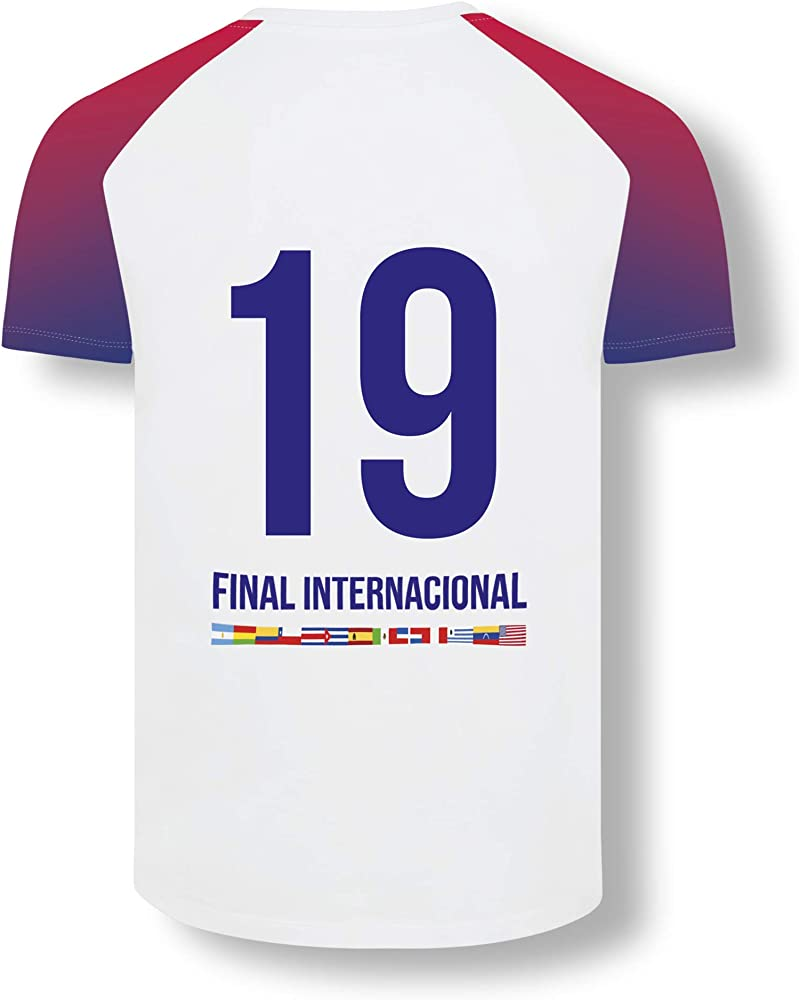 Red Bull Batalla Final Internacional Camiseta, Blanco Hombres ...