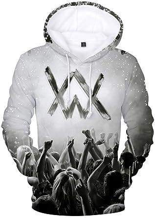 EMILYLE Herren Fnite Kapuzenpullover Porträt Druck Hoodie Spiel Fans Sweatshirts  Coole Oberteile Streetwear für Männer Jungen 96723ffd7b
