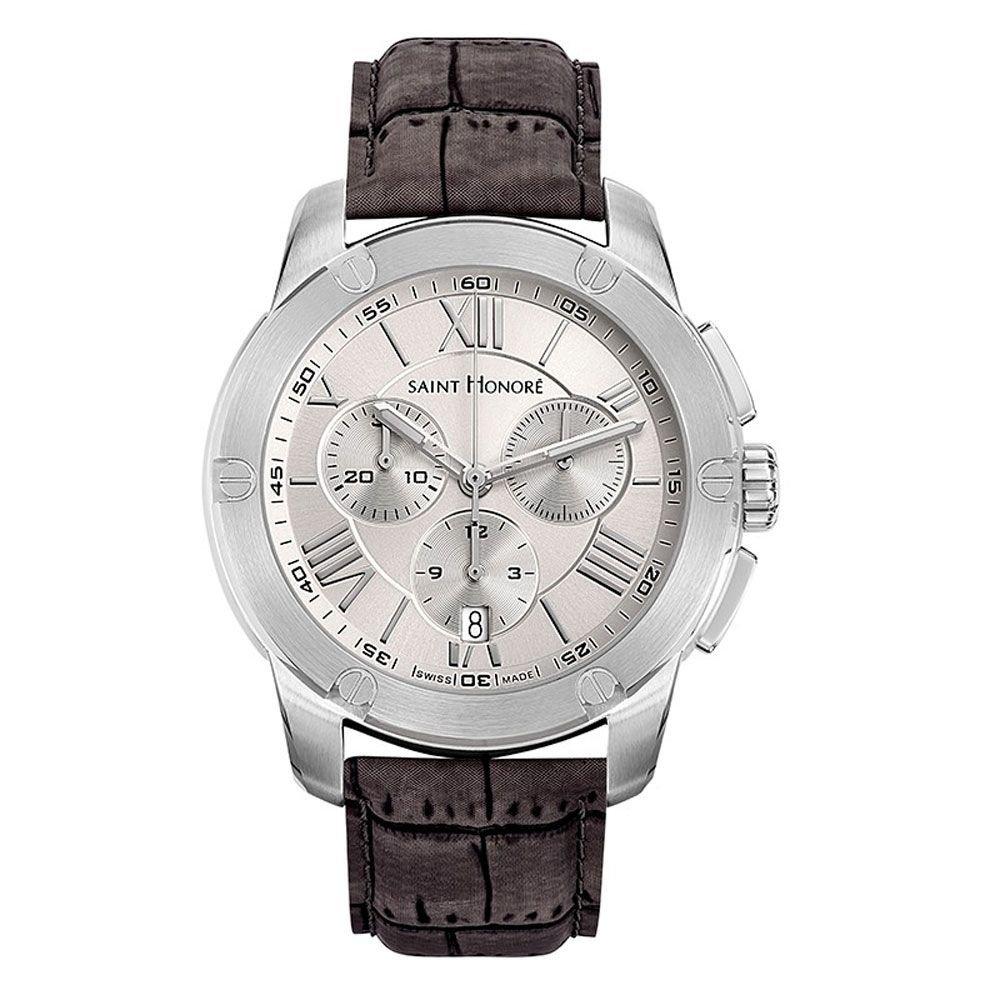 Saint Honoré Reloj Analogico para Hombre de Cuarzo con Correa en Cuero 8860301ARAN