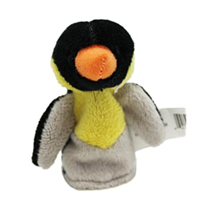 Kid's Plush Animal Finger Puppet: Penguin - By ganz: Office Products
