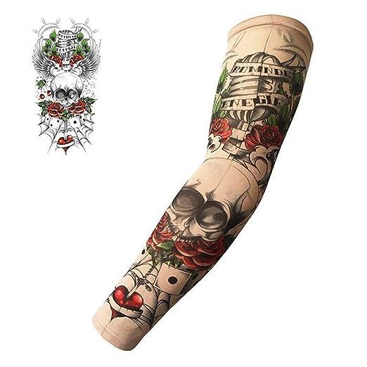 Mangas de Tatuaje, protección Solar UV Mangas de Tatuaje, Mangas ...