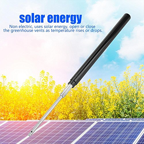 Haofy Automatic Window Opener Solar, Hydraulic Cylinder Replacement Sensitive Automatic Greenhouse Window Opener by Haofy (Image #3)