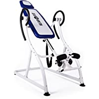 Klarfit Relax Zone Pro Table d'inversion pour exercices du dos (3 positions, rembourrage mousse, <150kg)