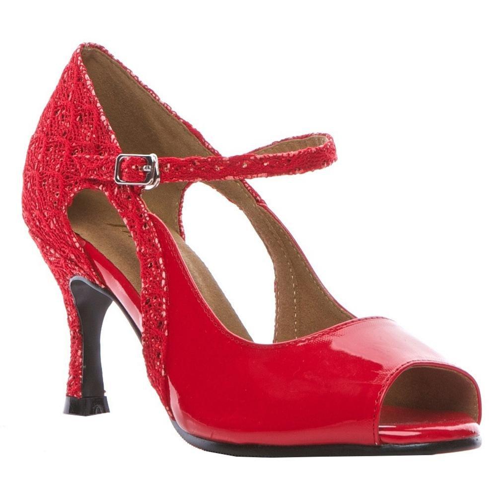 Danza Latina Zapatos Mujer Sandalias Cuero Tango Salsa Samba Tango Salón De
