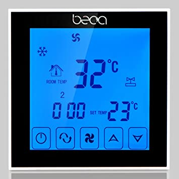 Beca 95 240vac Zwei Pipe Digital Wochentlich Programmierbare