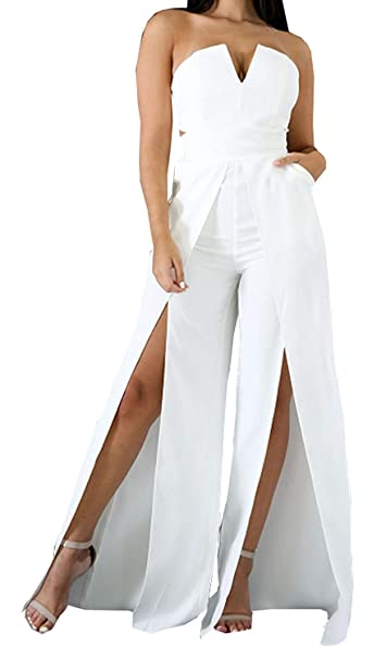 Mujer Pantalones Traje Damas Festivo Elegantes Verano ...