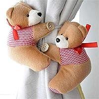 meizu881par de alzapaños para cortina, diseño de osos