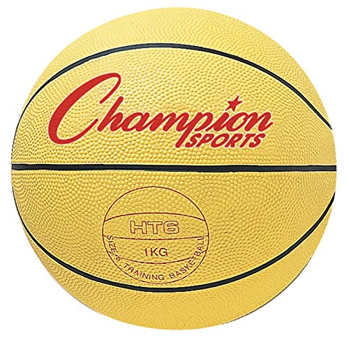 Weighted Rubber Trainer - Champion Sports Weighted Basketball Trainer