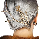 #2: Q&Q Fashion CHIC Runway 3Pcs Tree Branch Hair Pin Head Dress Snap Barrette Clip Fascinator