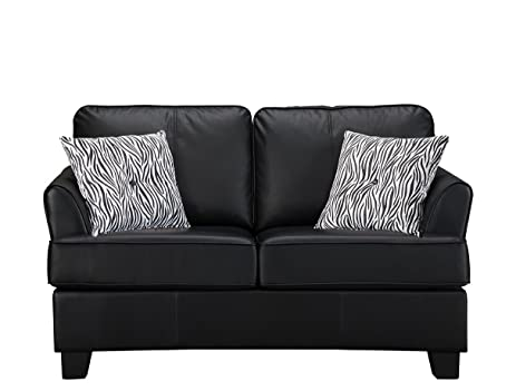 Amazon.com: Kings Brand Furniture Faux Leather Sofa Hide a Bed ...