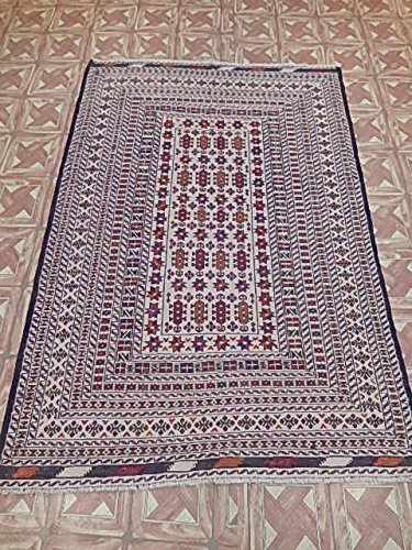 Amazon Com Sunroom Room Rug 4x6 Baluch Sarawani Tribal Rugs For
