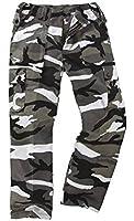 6 Pocket Camouflage Combat Cargo Trousers - Urban